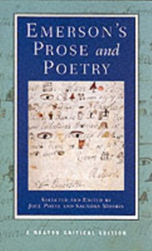Emerson's Prose and Poetry, Paperback