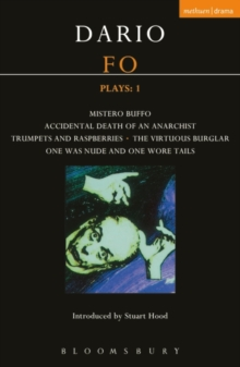 Fo Plays : Mistero Buffo; Accidental Death...; Trumpets and Raspberries; Virtuous Burglar; One Was Nude... V. 1, Paperback