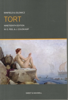 Winfield and Jolowicz on Tort, Paperback