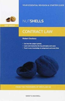 Nutshells Contract Law, Paperback Book