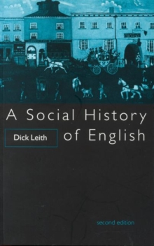 A Social History of English, Paperback