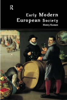 Early Modern European Society, Paperback