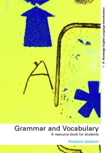 Grammar and Vocabulary : A Resource Book for Students, Paperback