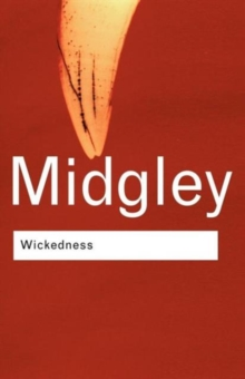 Wickedness : A Philosophical Essay, Paperback