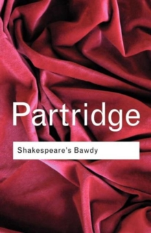 Shakespeare's Bawdy, Paperback Book