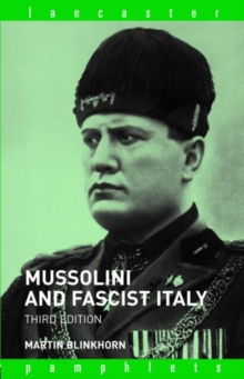 Mussolini and Fascist Italy, Paperback Book