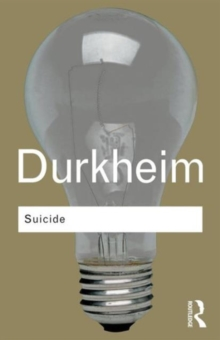 Suicide : A Study in Sociology, Paperback