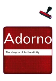 The Jargon of Authenticity, Paperback