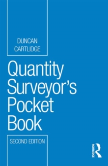 Quantity Surveyor's Pocket Book, Paperback