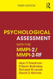 Psychological Assessment with the MMPI-2/MMPI-2-RF, Paperback Book
