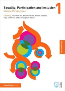 Equality, Participation and Inclusion 1 : Diverse Perspectives Volume 1, Paperback