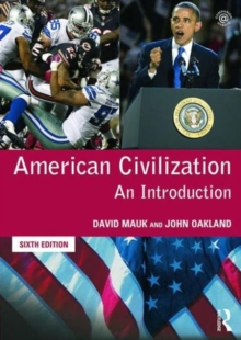 American Civilization : An Introduction, Paperback