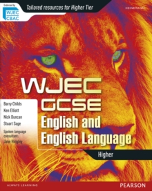 WJEC GCSE English and English Language: Higher Student Book, Paperback