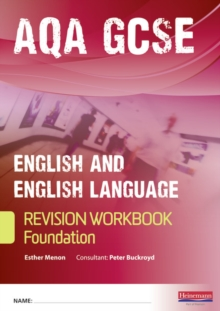 Revise GCSE AQA English/Language Workbook - Foundation, Paperback