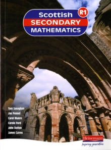 Scottish Secondary Maths Red : Student Book Book 1, Paperback