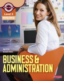 NVQ/SVQ Level 3 Business & Administration Candidate Handbook, Paperback