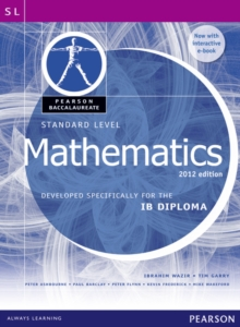 Pearson Baccalaureate Standard Level Mathematics Bundle for the IB Diploma : Developed Specifically for the IB Diploma, Mixed media product