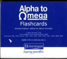 Alpha To Omega Flashcards, Cards Book