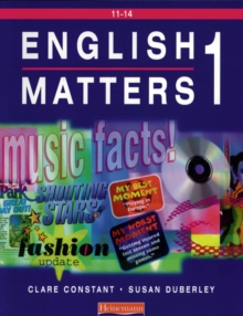 English Matters 11-14 Student Book 1, Paperback