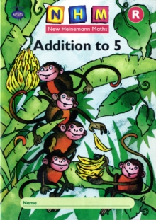 New Heinemann Maths: Reception: Addition to 5 Activity Book (8 Pack), Multiple copy pack Book