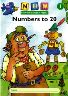 New Heinemann Maths Yr1, Number to 20 Activity Book (8 Pack), Paperback