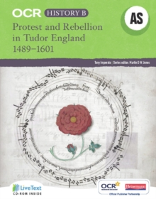OCR A Level History B : Protest and Rebellion in Tudor England, 1489-1601, Mixed media product
