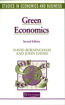 Studies in Economics and Business: Green Economics, Paperback Book