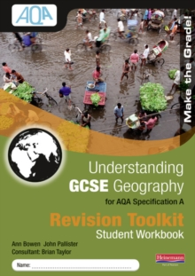 Understanding GCSE Geography for AQA A : Revision Toolkit Student Workbook, Paperback