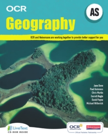 AS Geography for OCR Student Book with LiveText for Students, Mixed media product Book