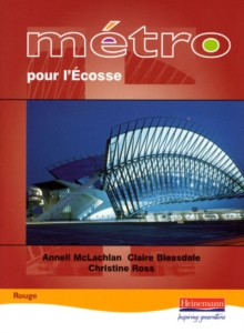 Metro Pour L'Ecosse Rouge Student Book, Paperback