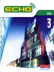 Echo 3 Grun Pupil Book, Paperback