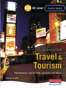 GCE AS Travel and Tourism Double Award for OCR, Paperback
