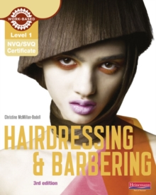 Certificate in Hairdressing and Barbering Candidate Handbook : (NVQ/SVQ)  Level 1, Paperback Book