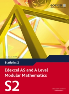 Edexcel AS and A Level Modular Mathematics Statistics 2 S2, Mixed media product