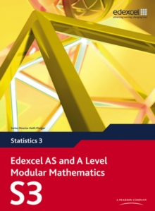 Edexcel AS and A Level Modular Mathematics Statistics 3 S3, Mixed media product