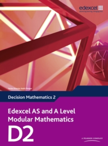 Edexcel AS and A Level Modular Mathematics Decision Mathematics 2 D2, Mixed media product