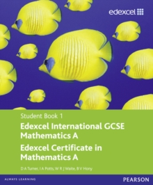 Edexcel International GCSE Mathematics A Student Book 1 with ActiveBook CD, Mixed media product Book