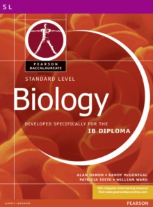 Pearson Baccalaureate: Standard Level Biology for the IB Diploma, Paperback
