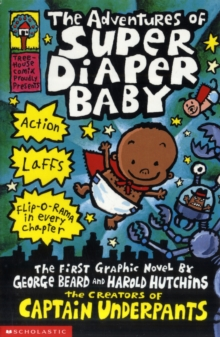 The Adventures of Super Diaper Baby, Paperback