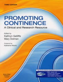 Promoting Continence : A Clinical and Research Resource, Paperback Book