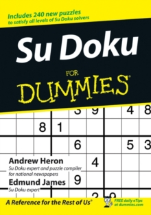 Su Doku For Dummies, Paperback
