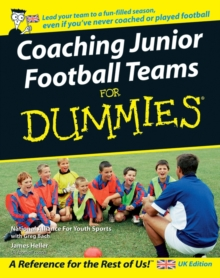 Coaching Junior Football Teams For Dummies, Paperback