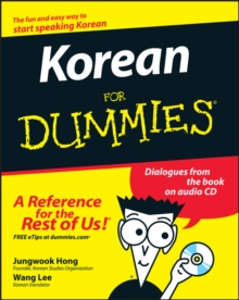 Korean For Dummies, Paperback Book