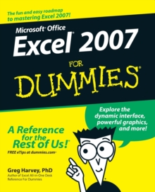 Excel 2007 For Dummies, Paperback Book