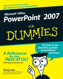 PowerPoint 2007 For Dummies, Paperback
