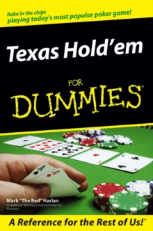 Texas Hold'em For Dummies, Paperback