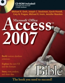 Access 2007 Bible, Paperback Book