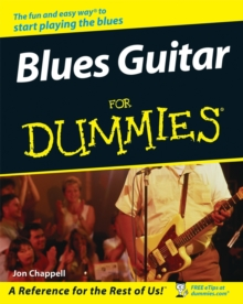 Blues Guitar For Dummies, Paperback Book