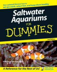 Saltwater Aquariums For Dummies, Paperback Book
