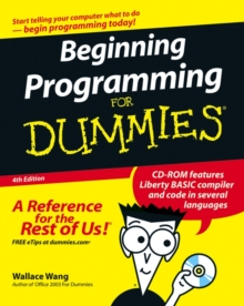 Beginning Programming For Dummies, Paperback